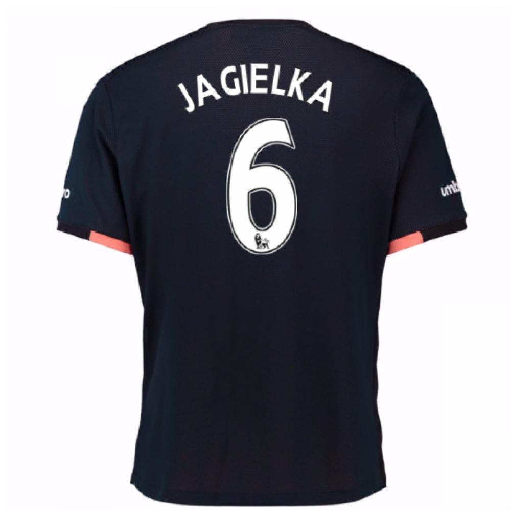 2016-17 Everton Away Shirt (Jagielka 6)