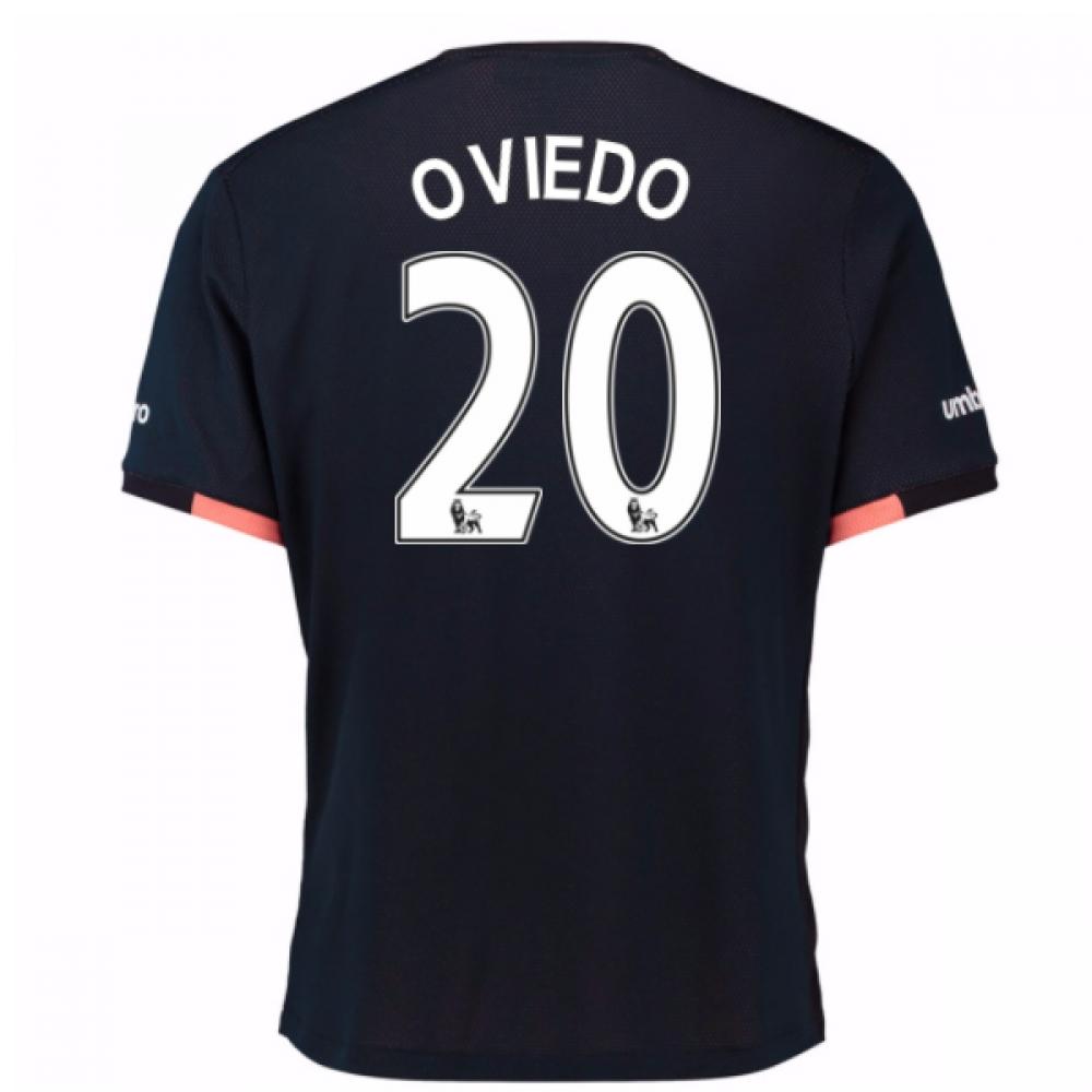 2016-17 Everton Away Shirt (Oviedo 20)