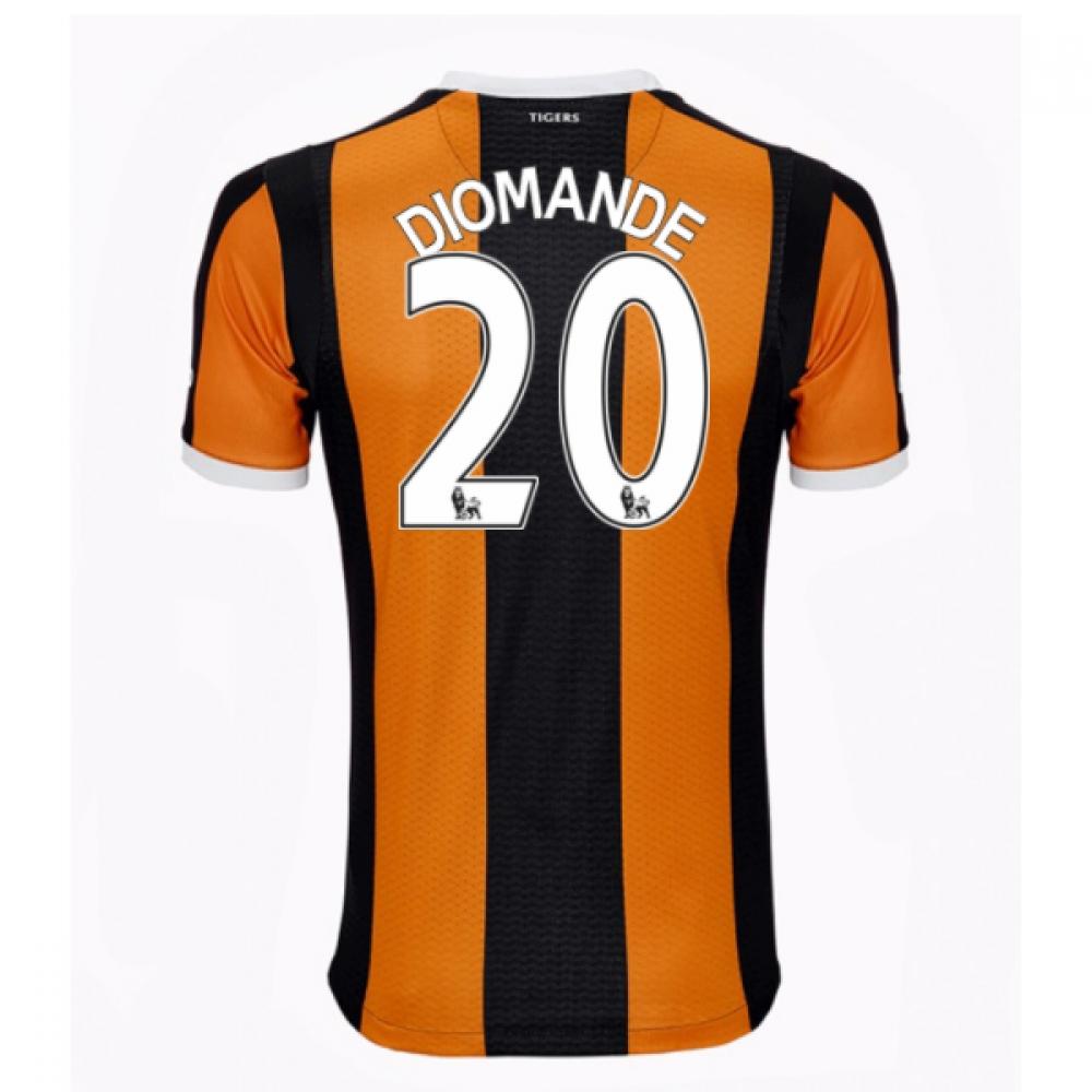 201617 Hull City Home Shirt (Diomande 20)