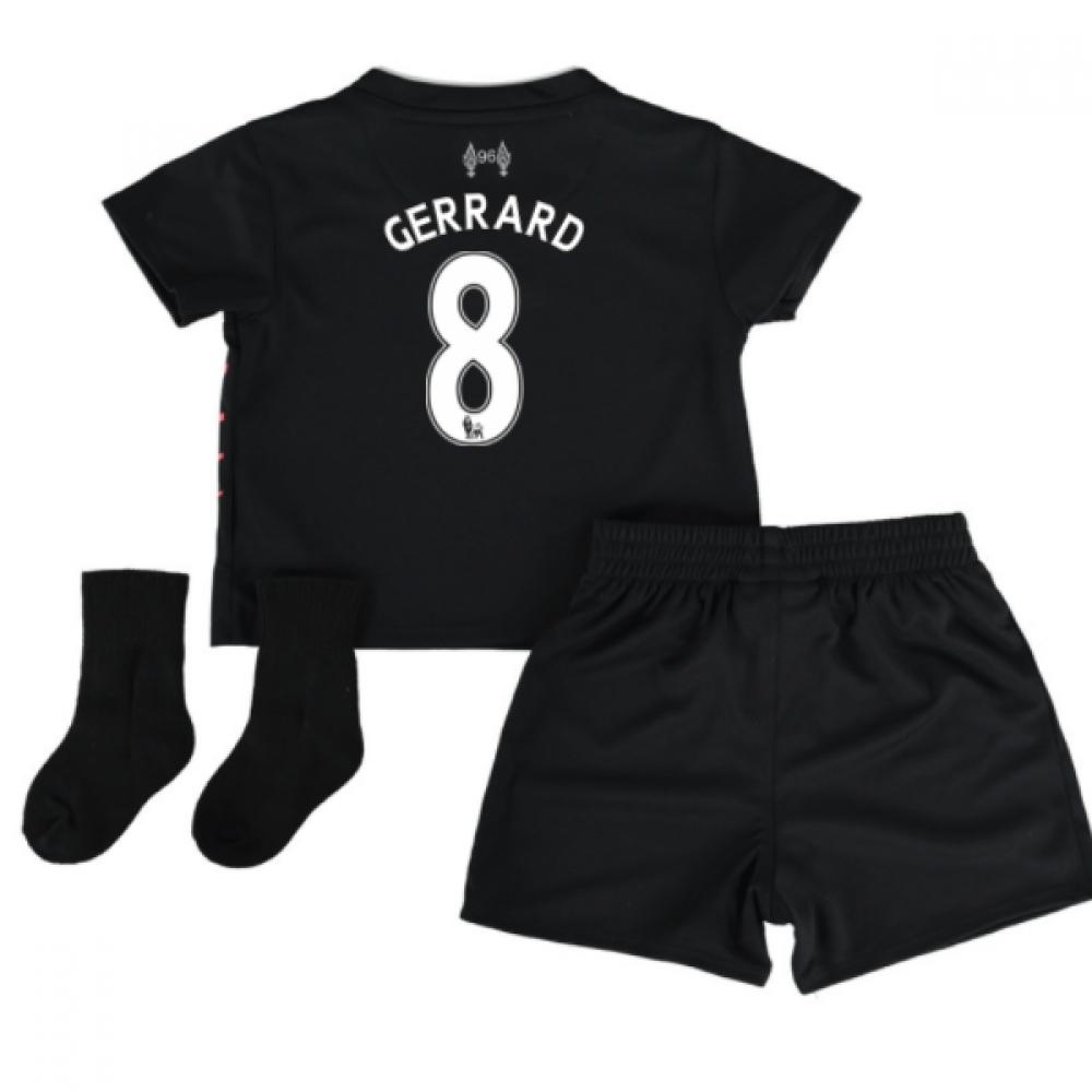 2016-17 Liverpool Away Baby Kit (Gerrard 8)