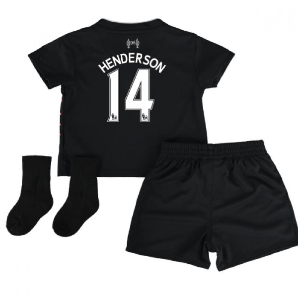 201617 Liverpool Away Baby Kit (Henderson 14)