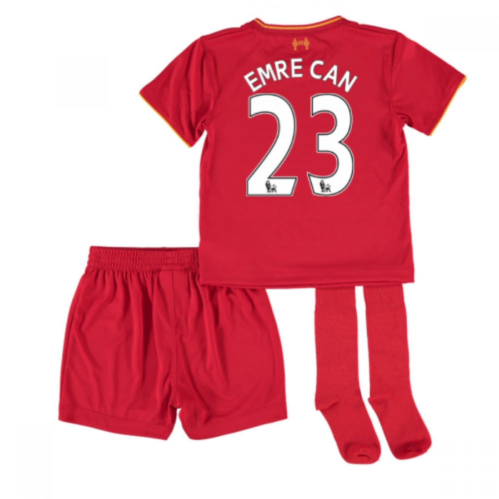 201617 Liverpool Home Mini Kit (Emre Can 23)