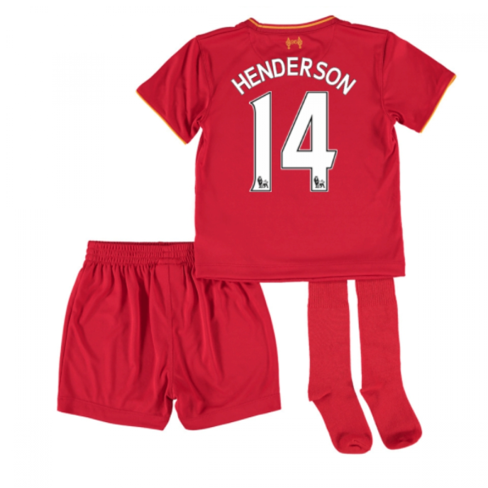 201617 Liverpool Home Mini Kit (Henderson 14)