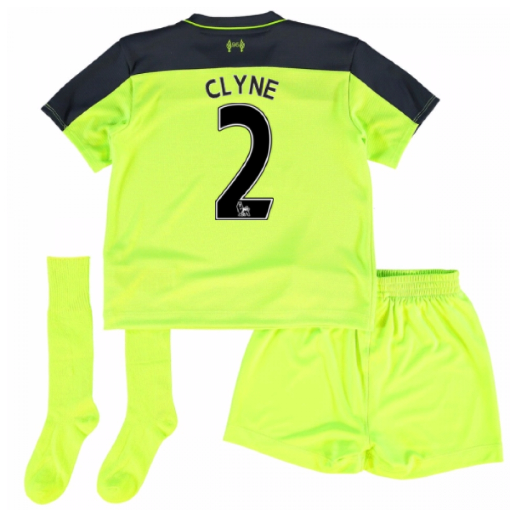 201617 Liverpool Third Mini Kit (Clyne 2)