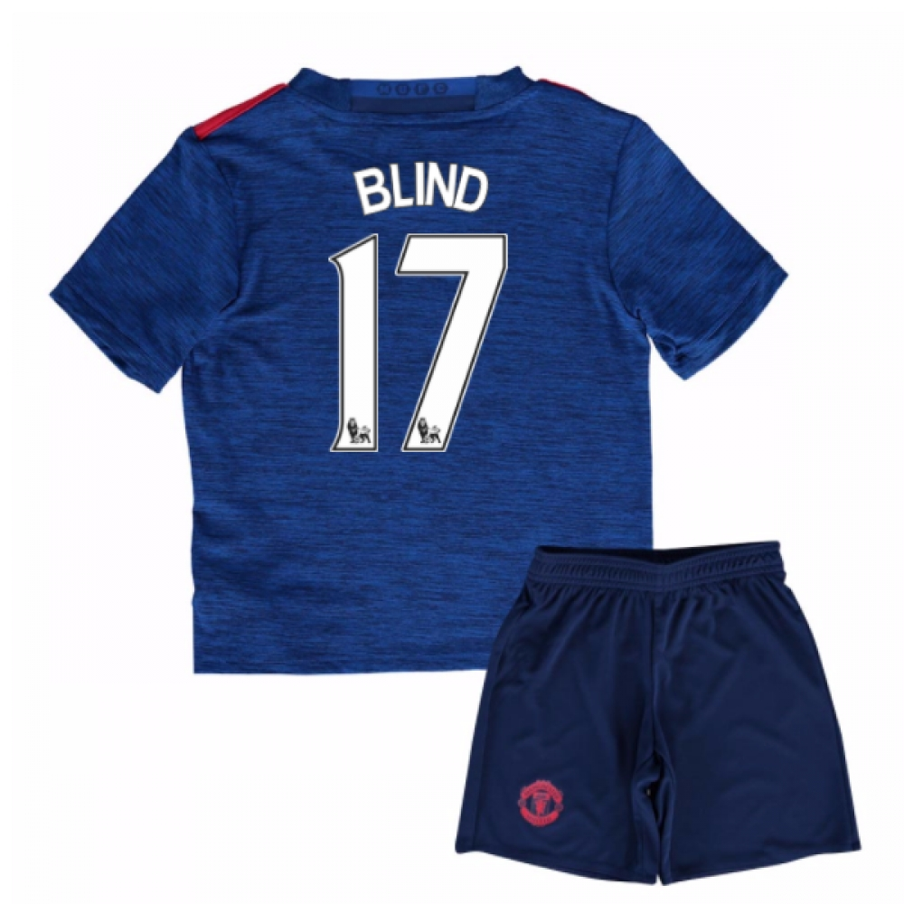 2016-17 Man United Away Baby Kit (Blind 17)
