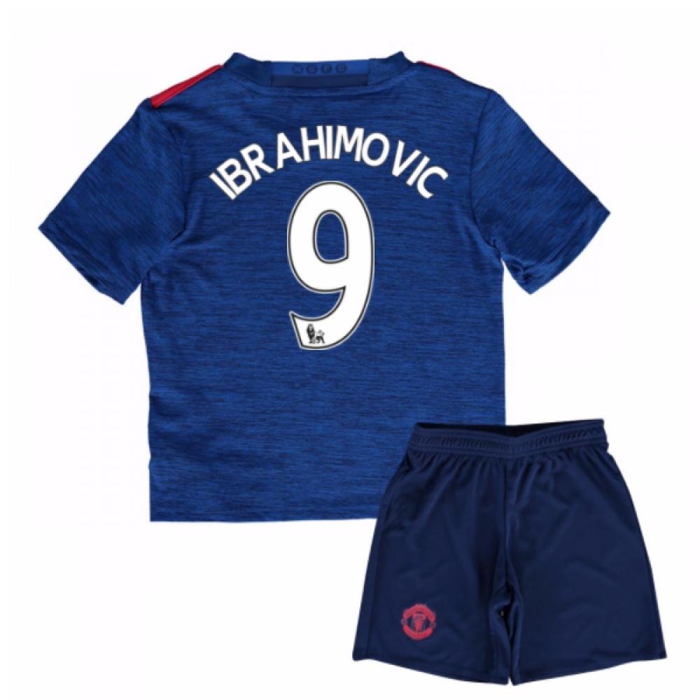 2016-17 Man United Away Baby Kit (Ibrahimovic 9)