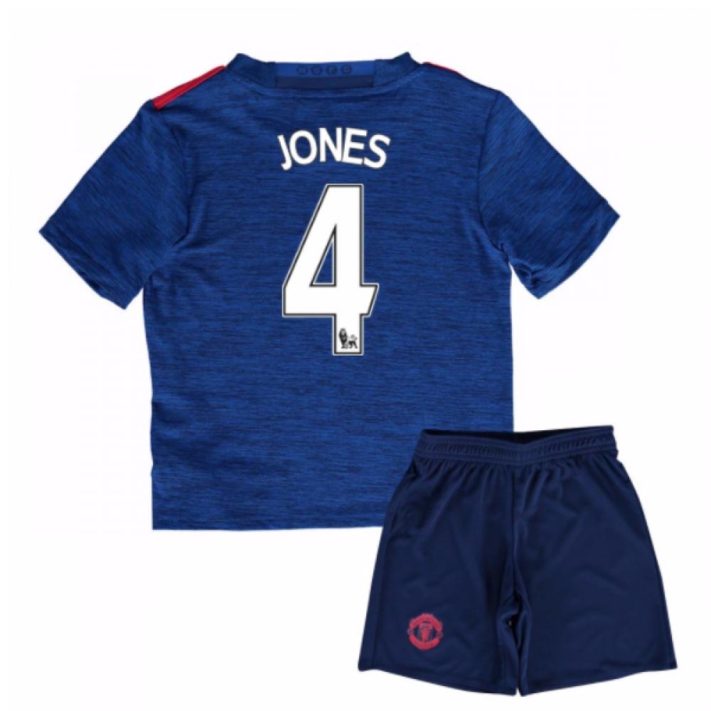 2016-17 Man United Away Baby Kit (Jones 4)