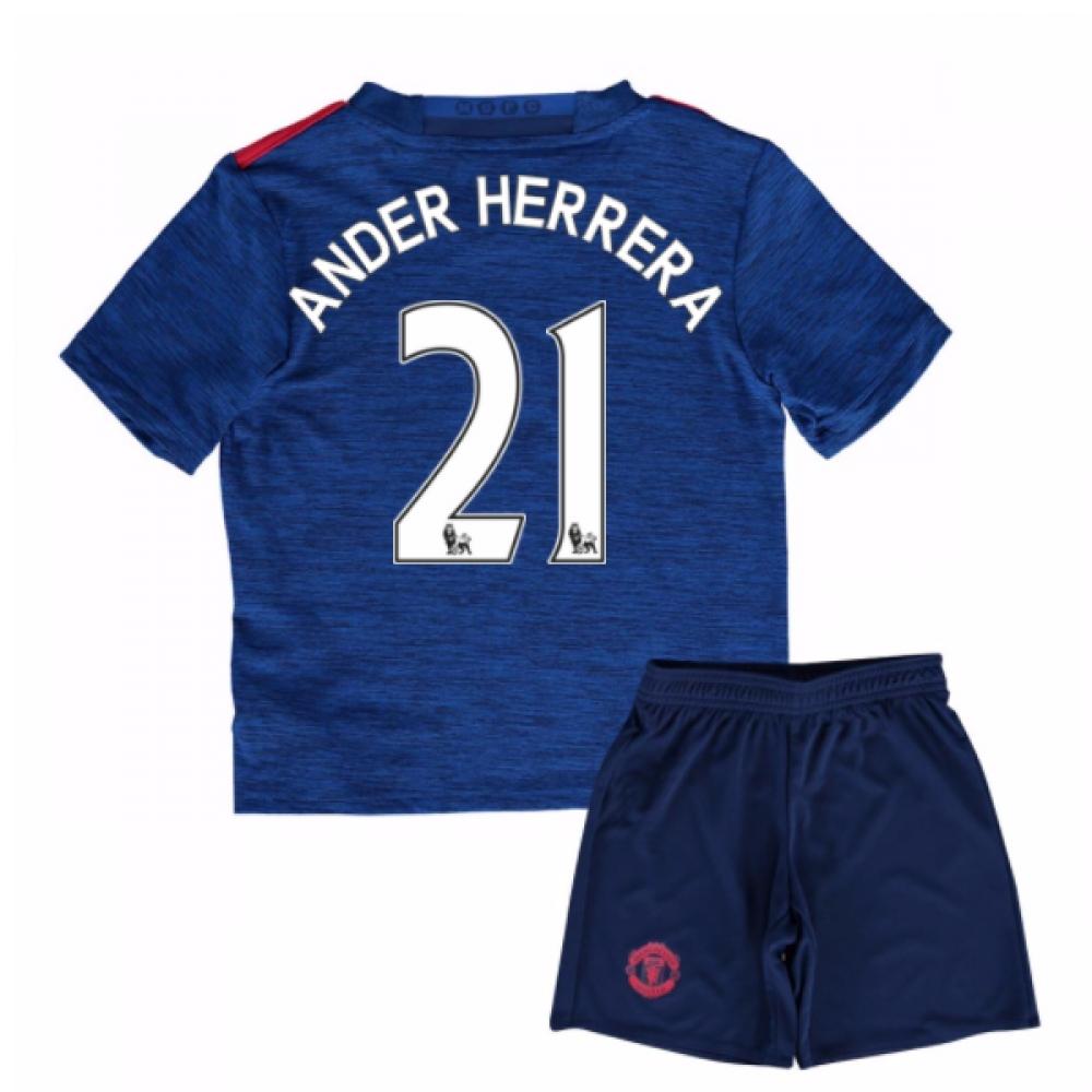 2016-17 Man United Away Mini Kit (Ander Herrera 21)