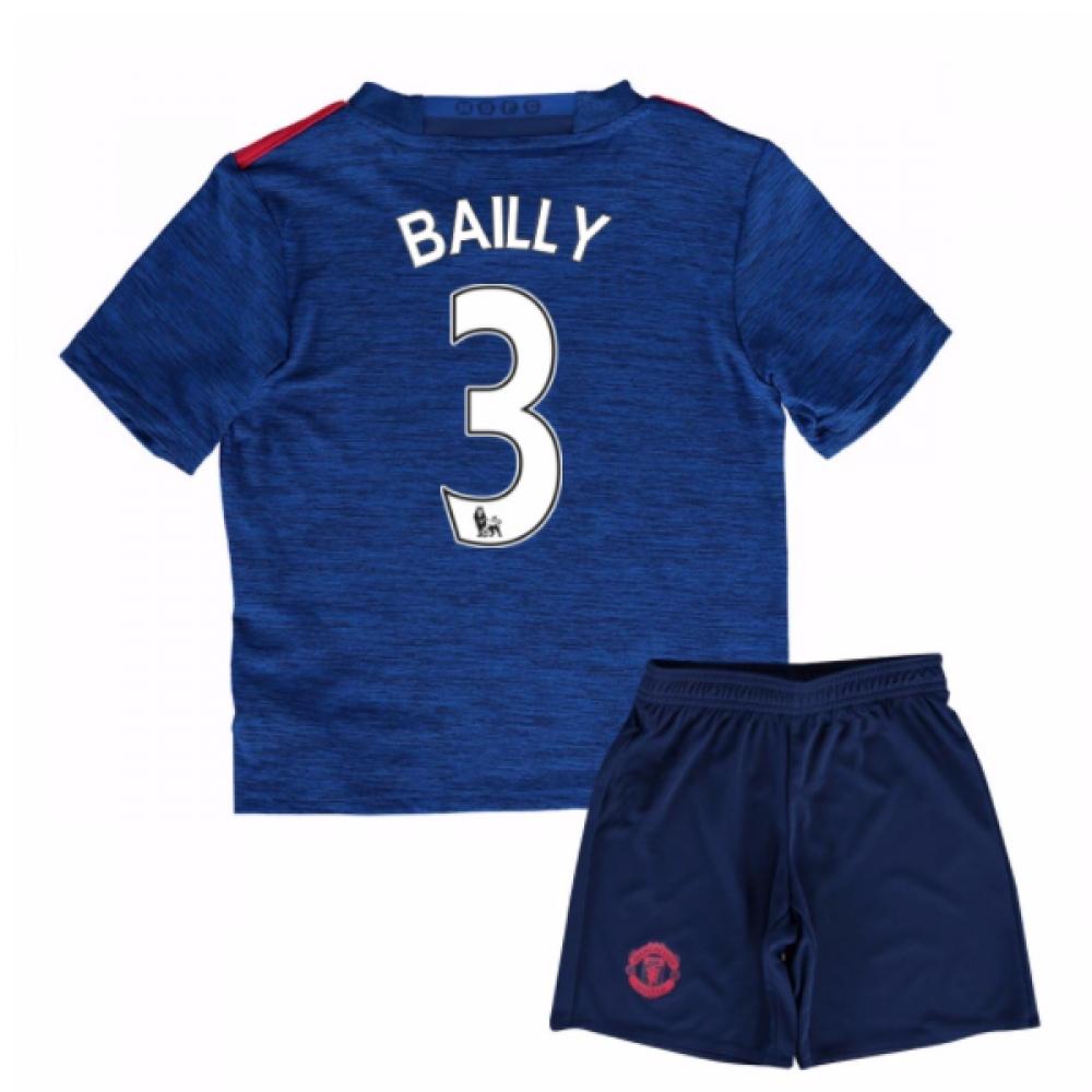 2016-17 Man United Away Mini Kit (Bailly 3)