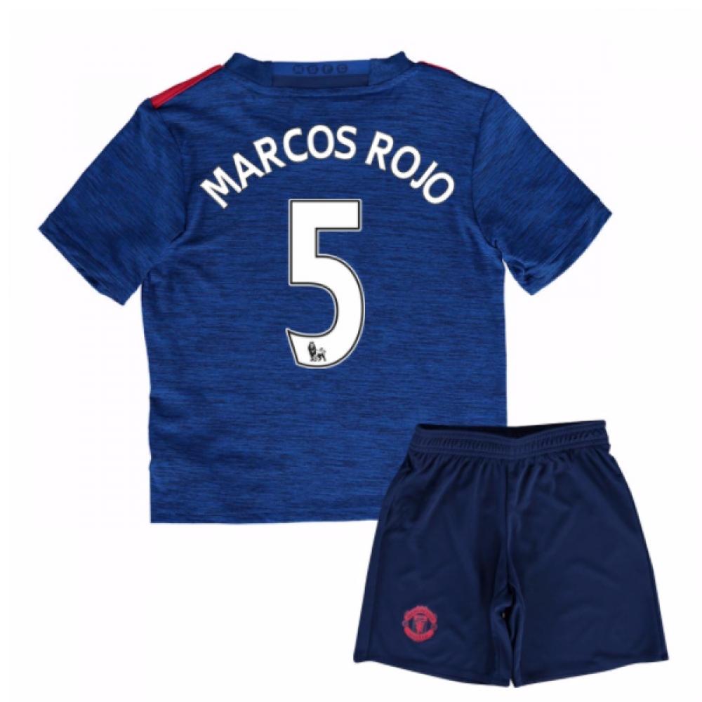 2016-17 Man United Away Mini Kit (Marcos Rojo 5)