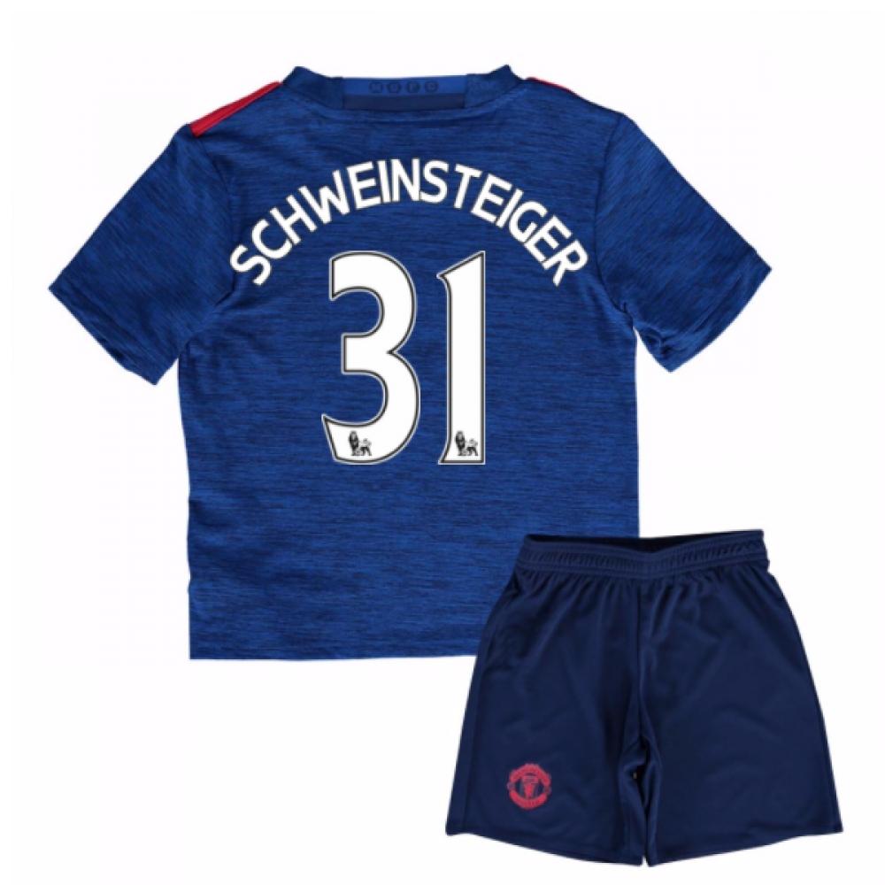 2016-17 Man United Away Mini Kit (Schweinsteiger 31)