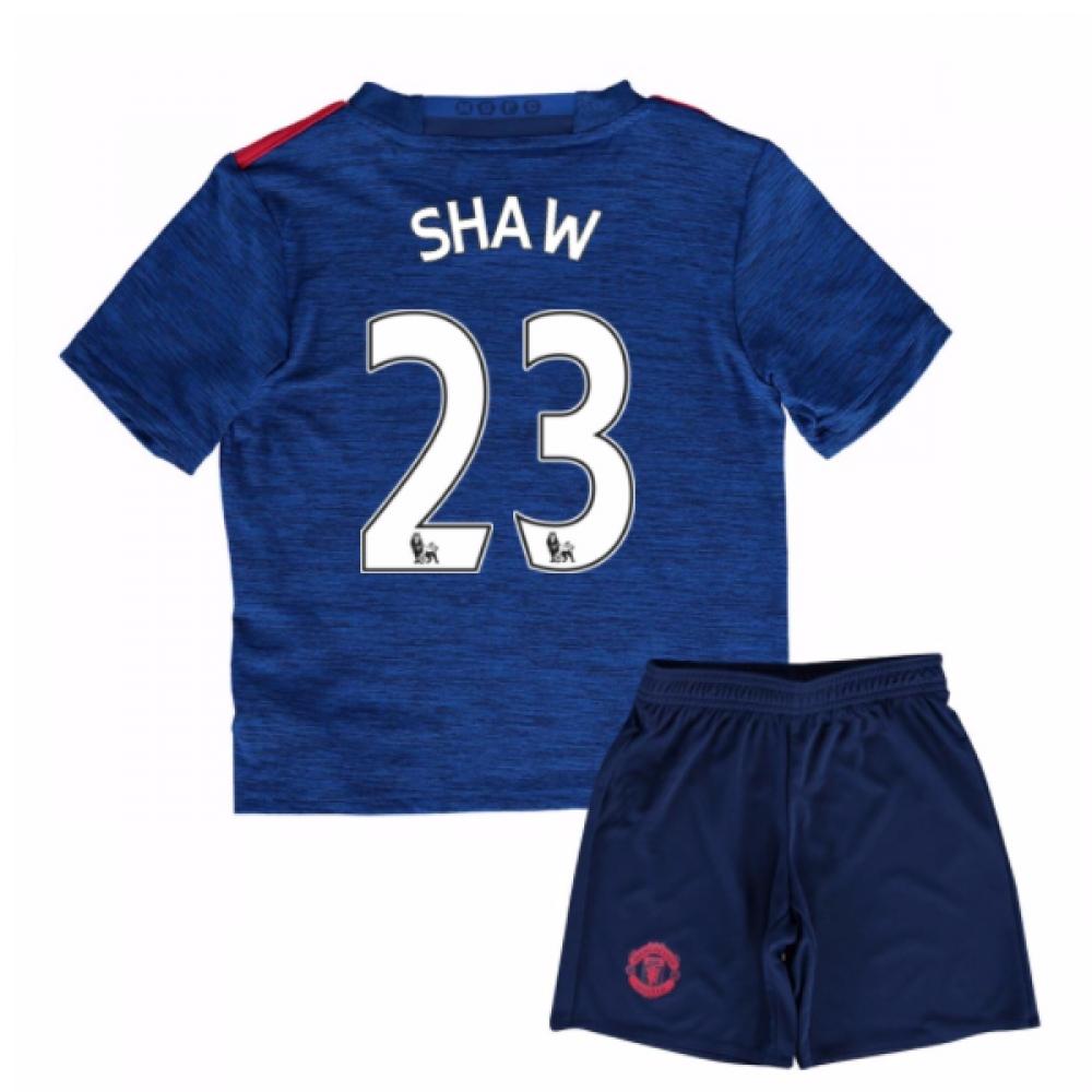 2016-17 Man United Away Mini Kit (Shaw 23)
