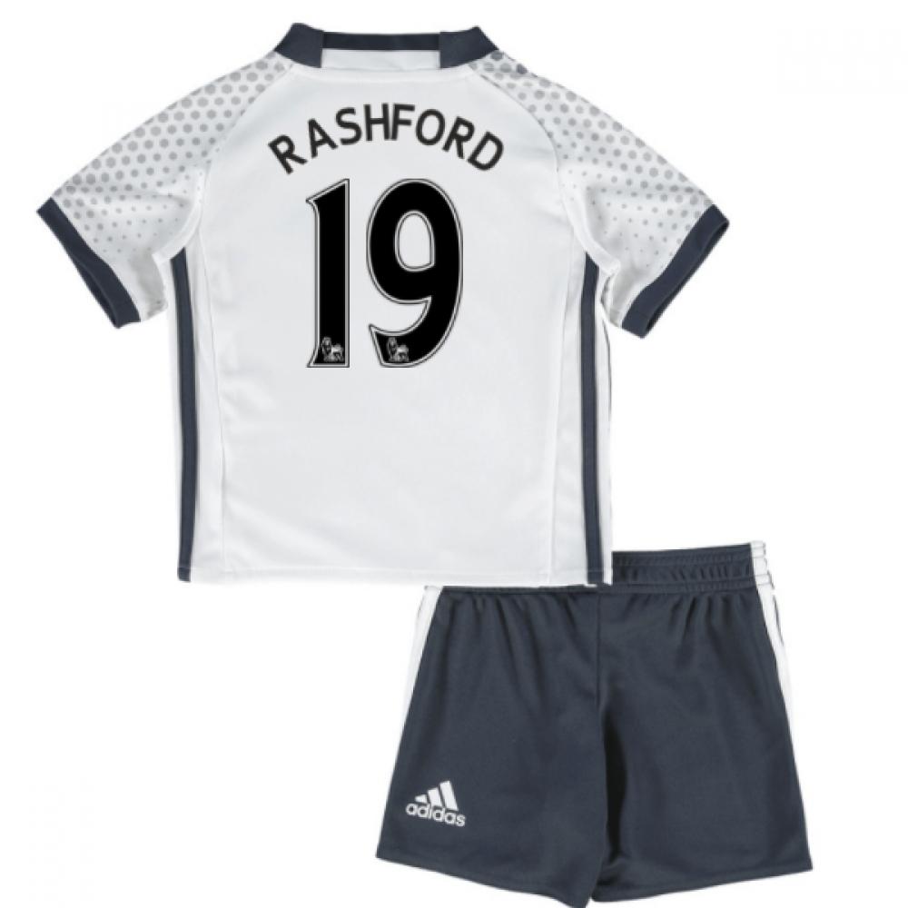 2016-17 Man United Third Mini Kit (Rashford 19)