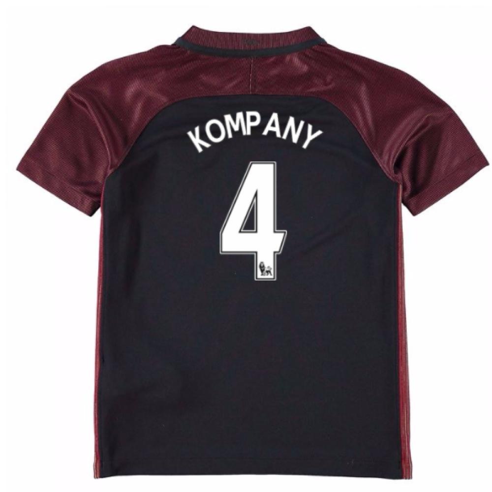 2016-17 Manchester City Away Mini Kit (Kompany 4)