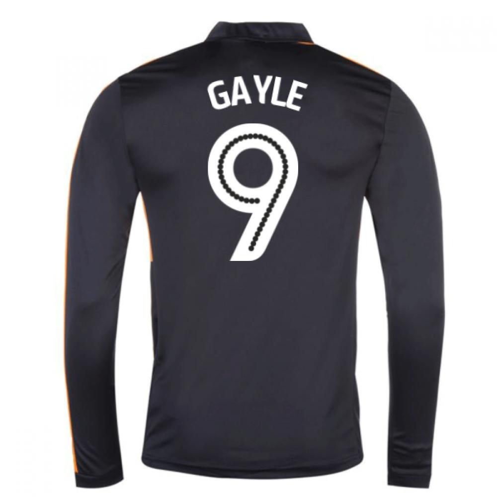 2016-17 Newcastle Away Long Sleeve Shirt (Gayle 9)