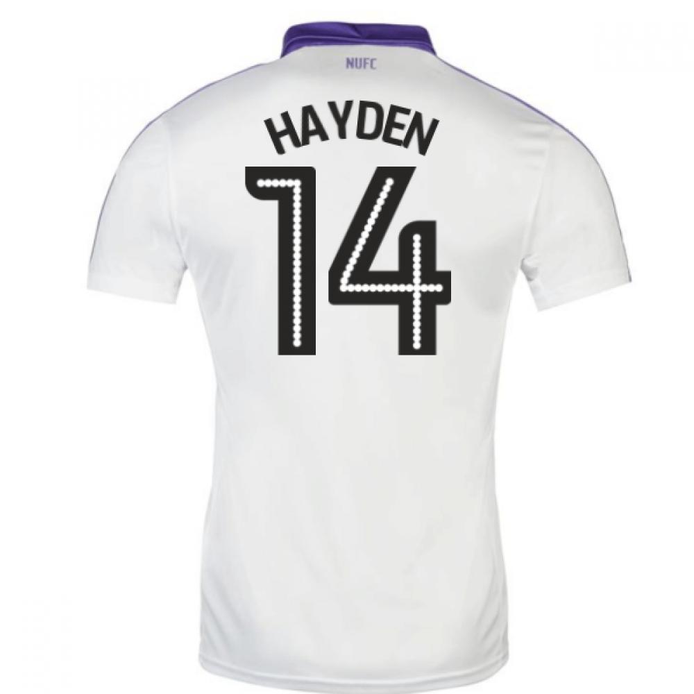 2016-17 Newcastle Third Shirt (Hayden 14)