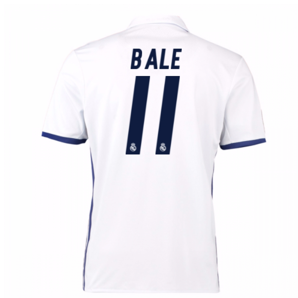 2016-17 Real Madrid Home Shirt (Bale 11)
