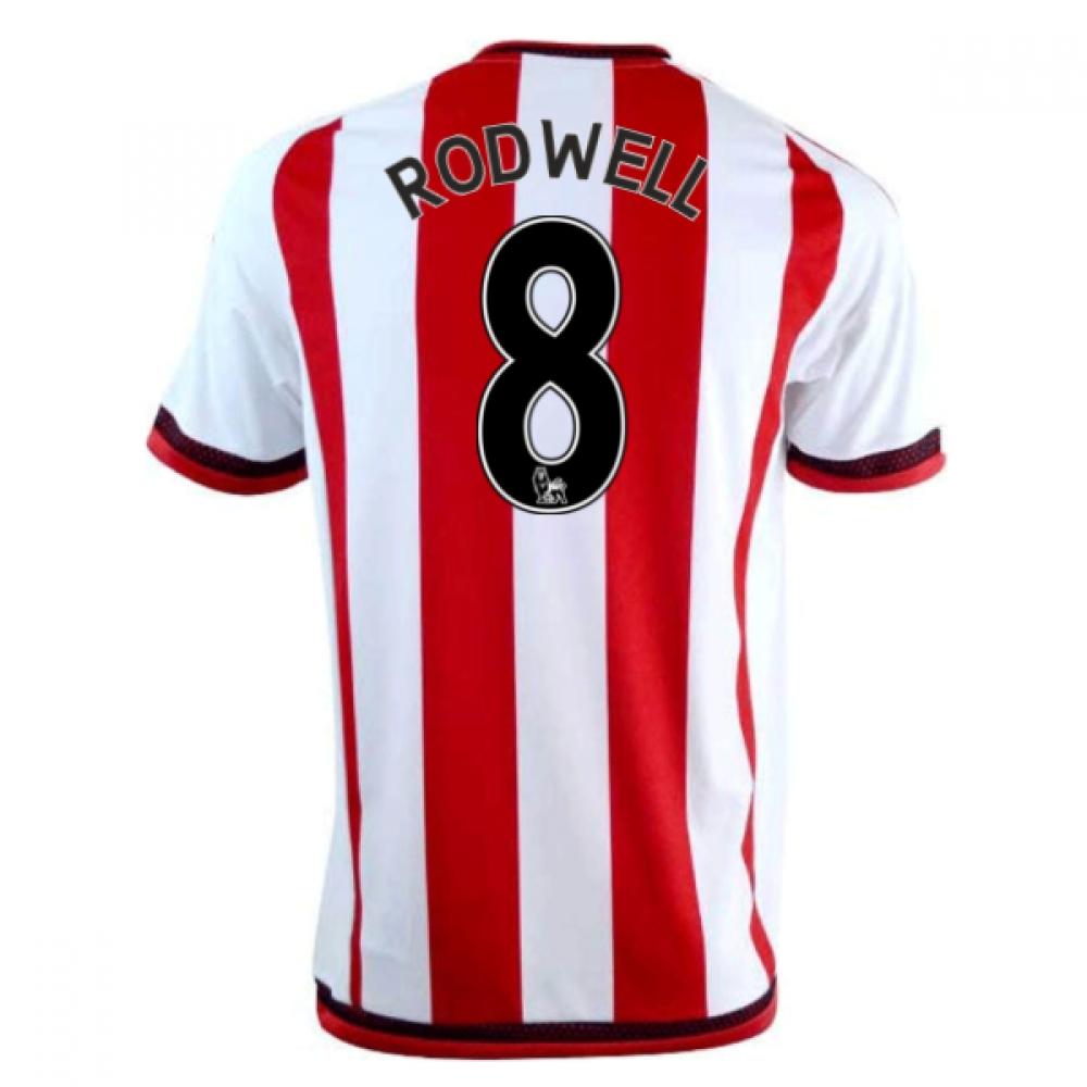 2016-17 Sunderland Home Shirt (Rodwell 8)
