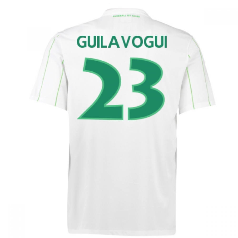 2016-17 Vfl Wolfsburg Away Shirt (Guilavogui 23) - Kids