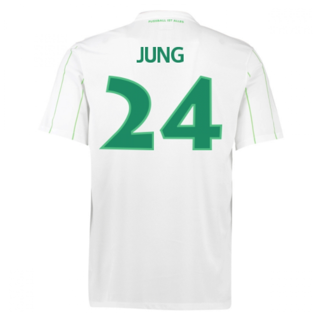 2016-17 Vfl Wolfsburg Away Shirt (Jung 24)