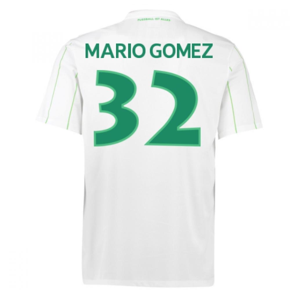 2016-17 Vfl Wolfsburg Away Shirt (Mario Gomez 32) - Kids