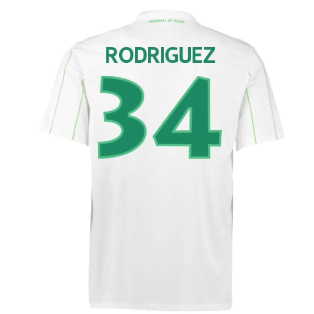 2016-17 Vfl Wolfsburg Away Shirt (Rodriguez 34) - Kids