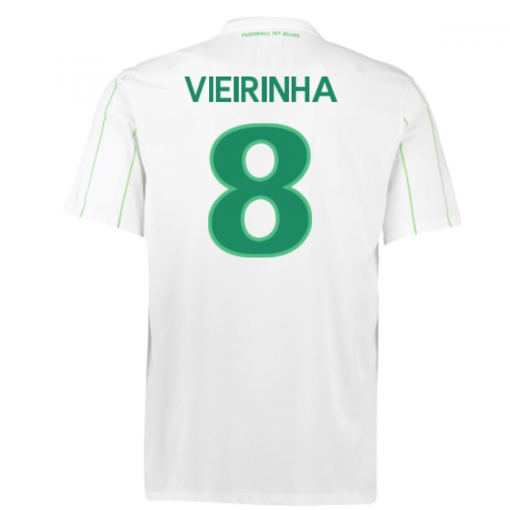 2016-17 Vfl Wolfsburg Away Shirt (Vieirinha 8) - Kids
