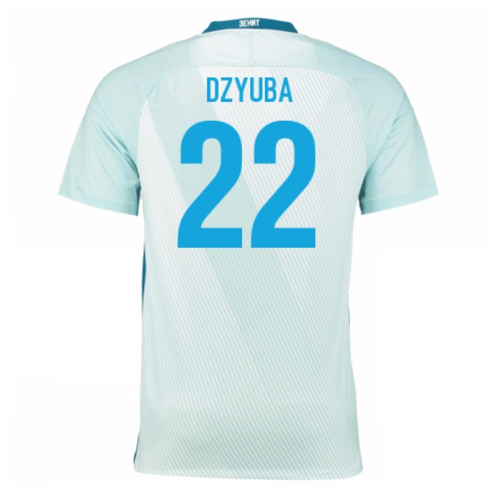 2016-17 Zenit St Petersburg Away Shirt - (Kids) (Dzyuba 22)