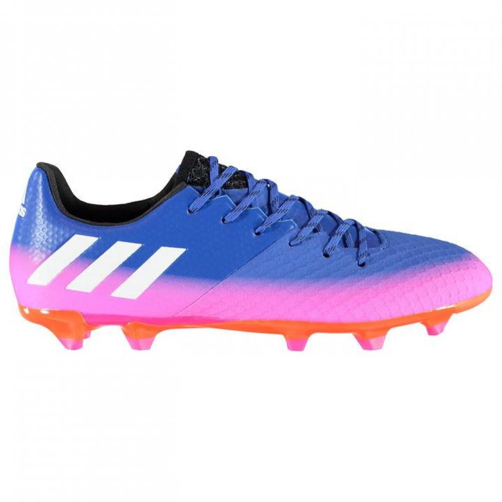 Adidas Messi 16.2 FG Mens Football Boots (Blue-Pink)