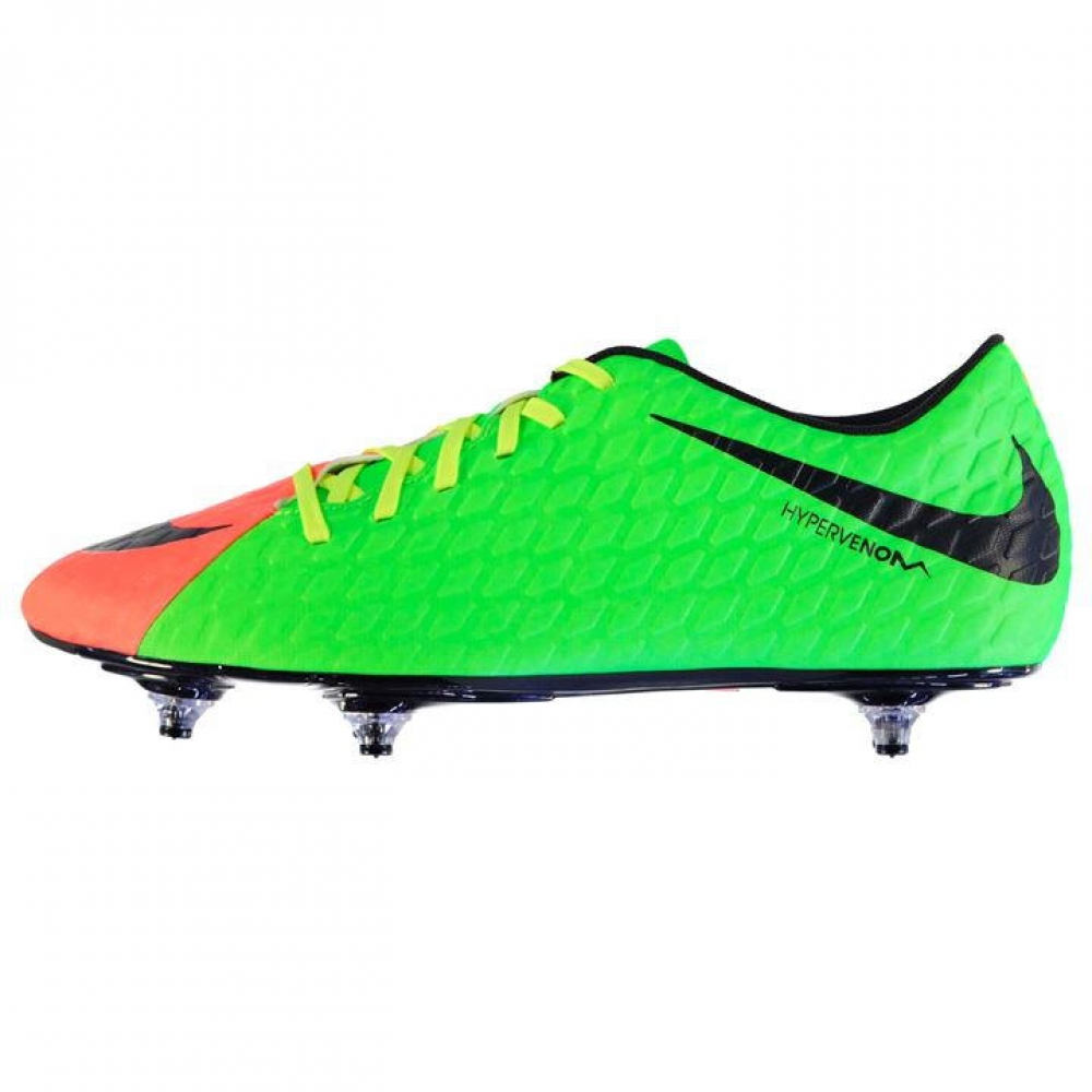 Nike Women s Hypervenom Phantom III FG Soccer Cleats (Wolf Grey Purple  Dynasty Max Orange) e09f709696
