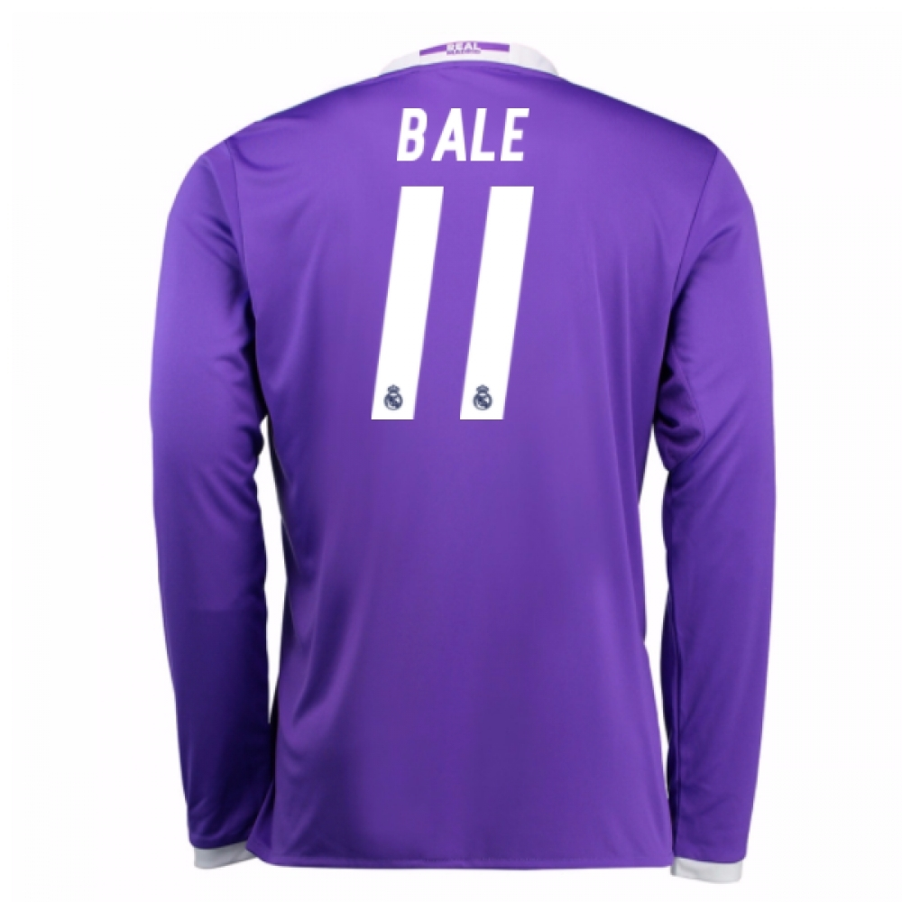 2016-17 Real Madrid Away Shirt (Bale 11)