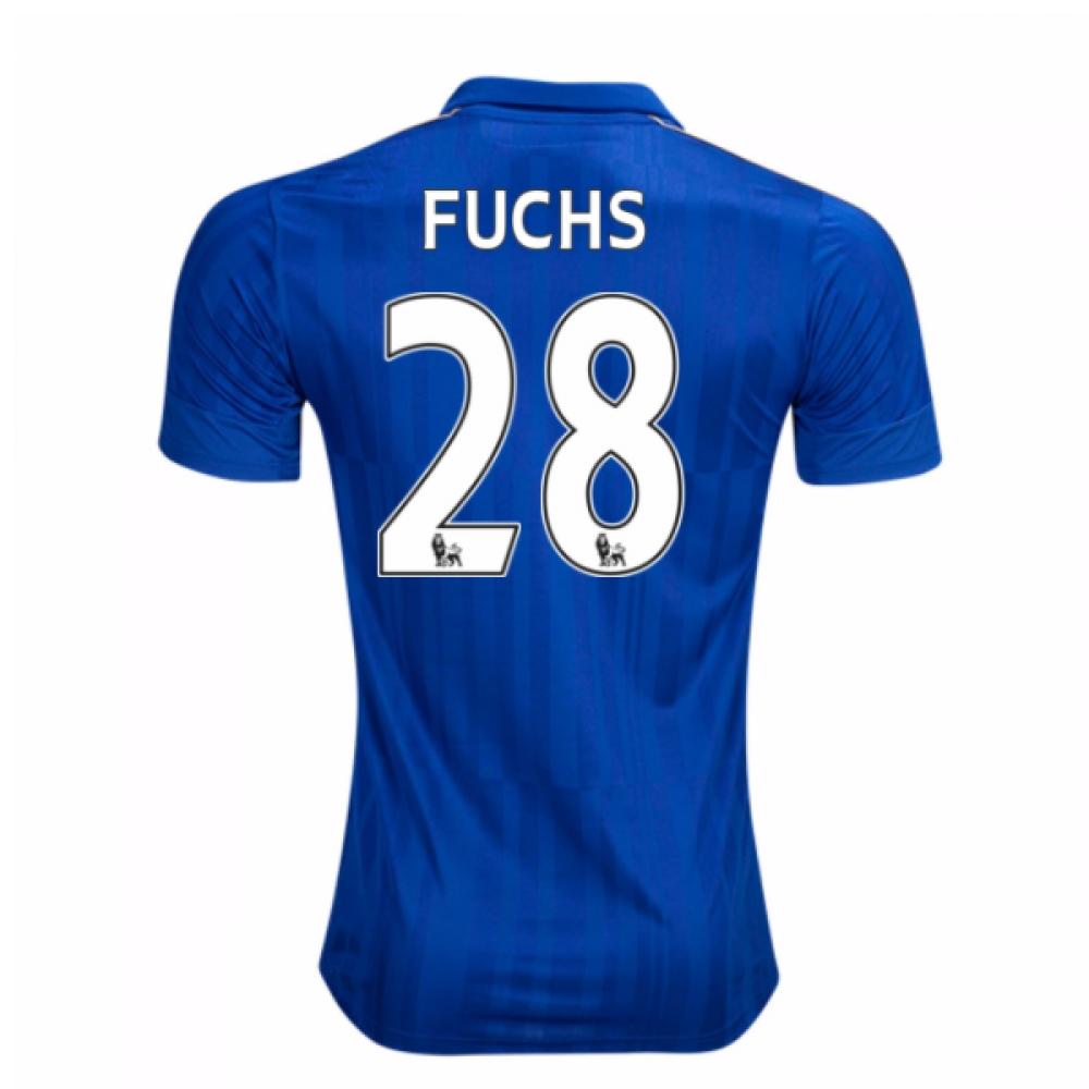 2016-17 Leicester City Home Shirt (Fuchs 28)