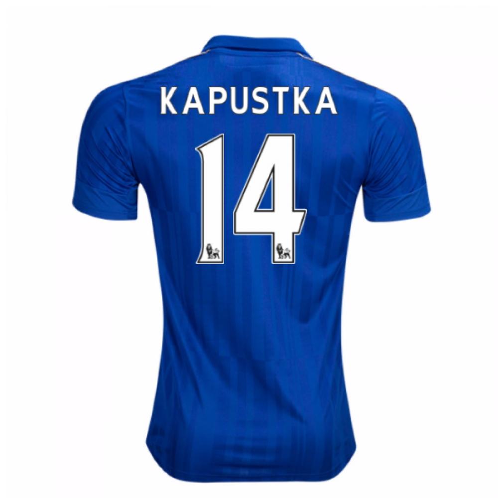 2016-17 Leicester City Home Shirt (Kapustka 14)