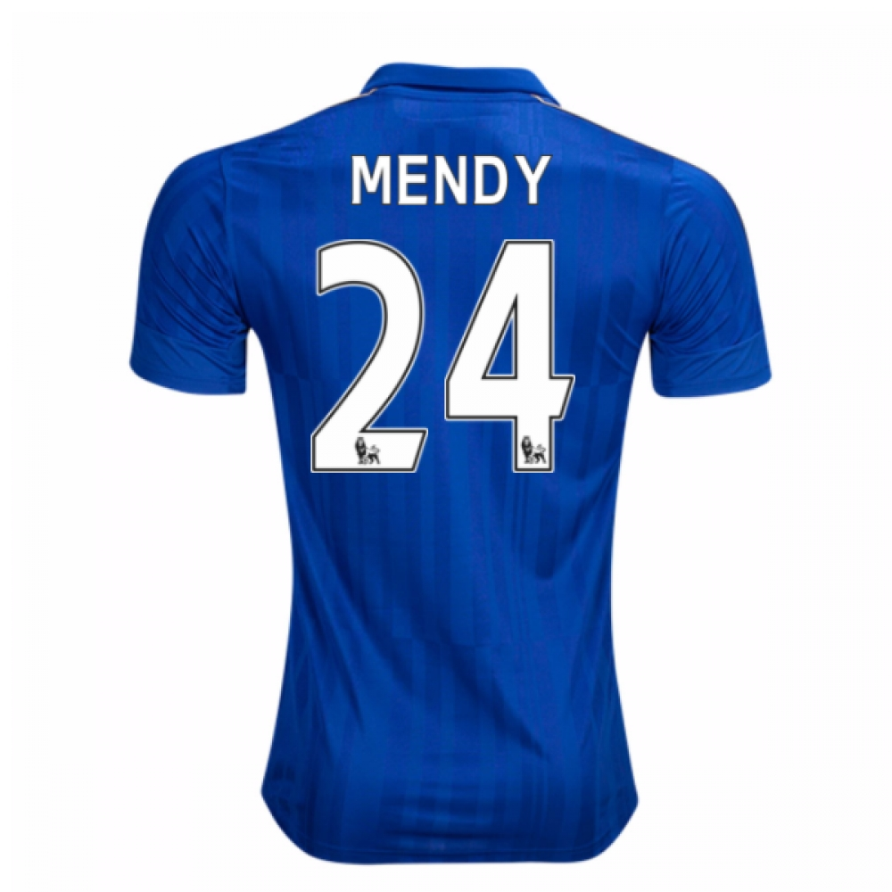 2016-17 Leicester City Home Shirt (Mendy 24)
