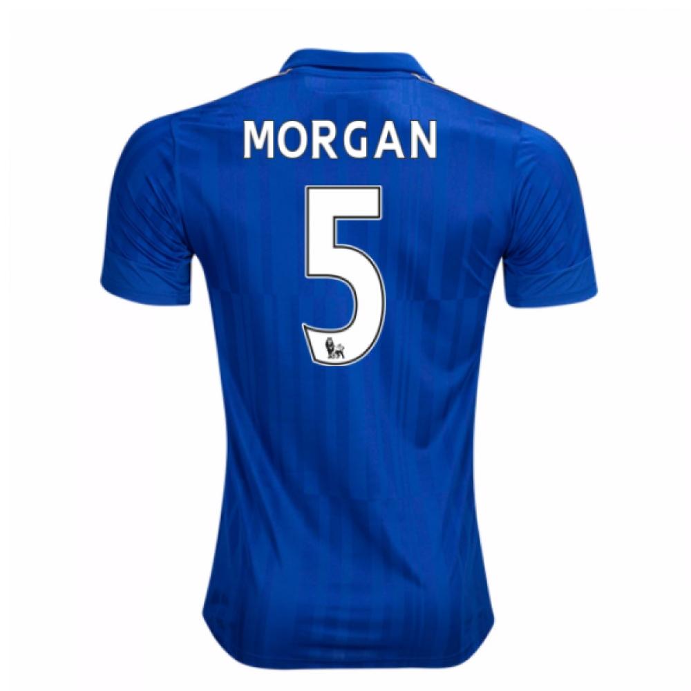 2016-17 Leicester City Home Shirt (Morgan 5)