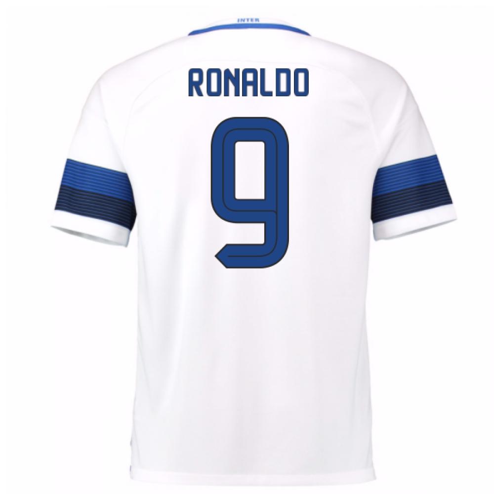 2016-17 Inter Milan Away Shirt (Ronaldo 9)