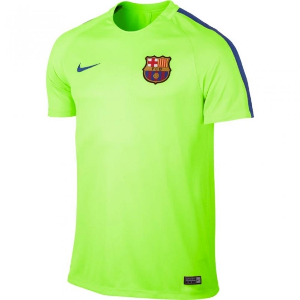 2016-2017 Barcelona Nike Training Shirt (Ghost Green)