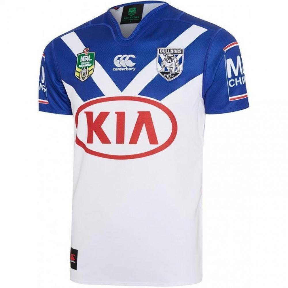 2017 Bankstown Bulldogs Canterbury Replica Home Rugby Jersey