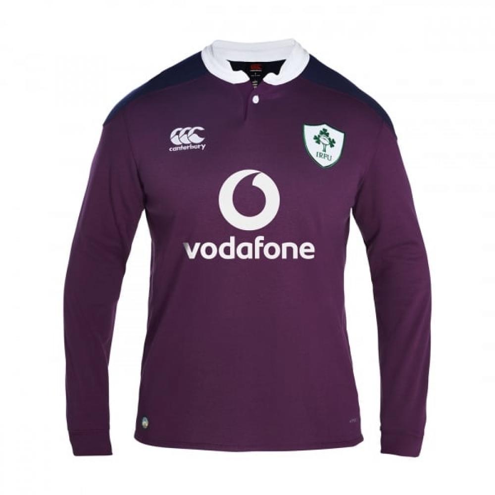 2016-2017 Ireland Alternate LS Classic Rugby Shirt