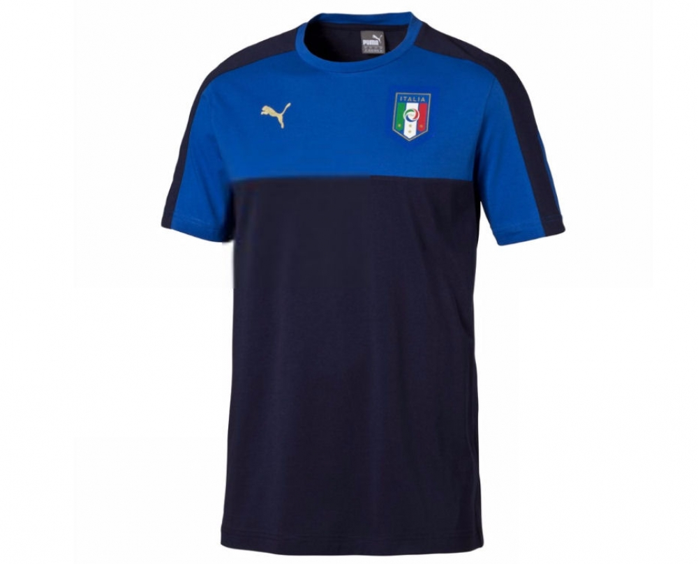 Italy 2006 Tribute Badge Tee (Peacot)