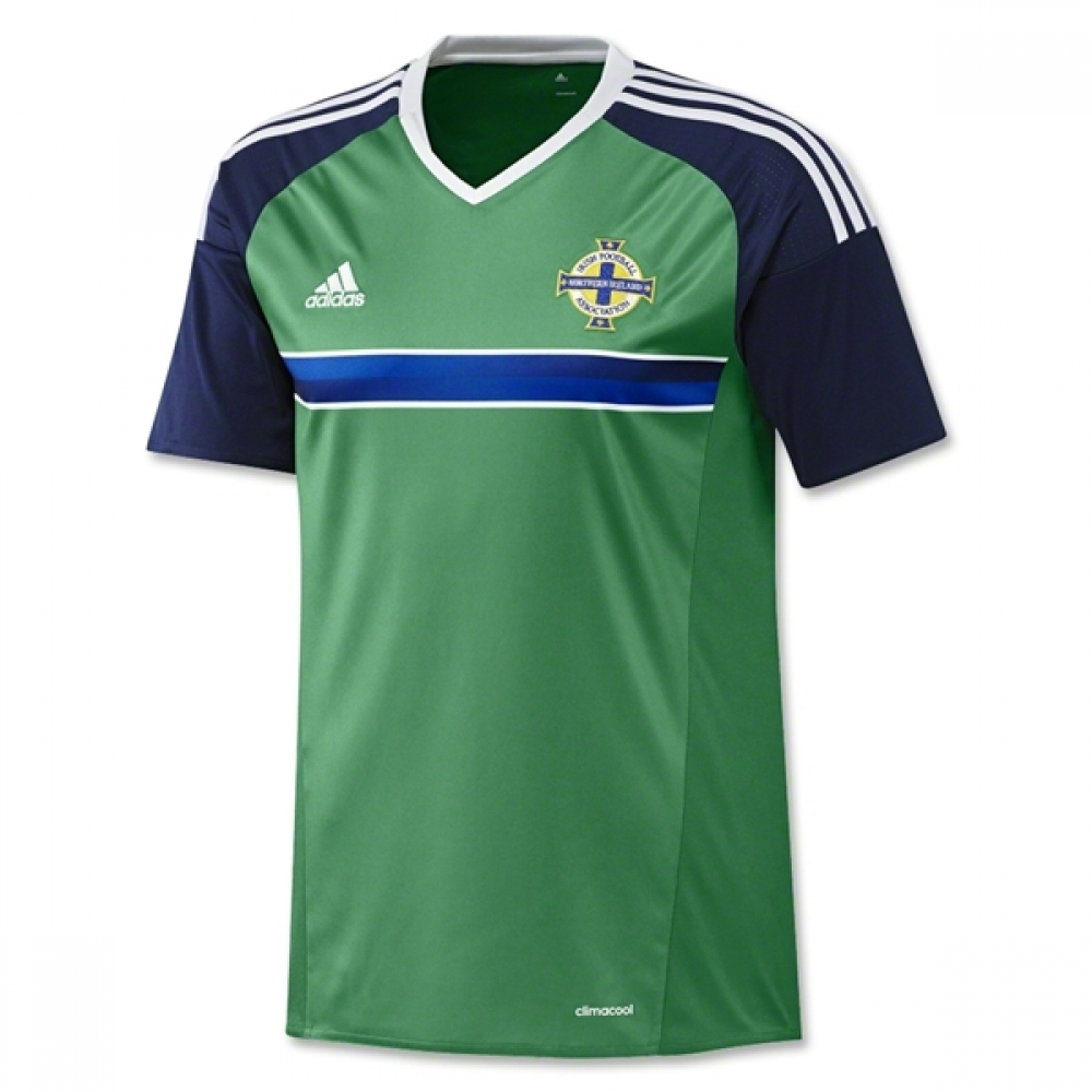 20162017 Northern Ireland Home Adidas Football Shirt (Kids)