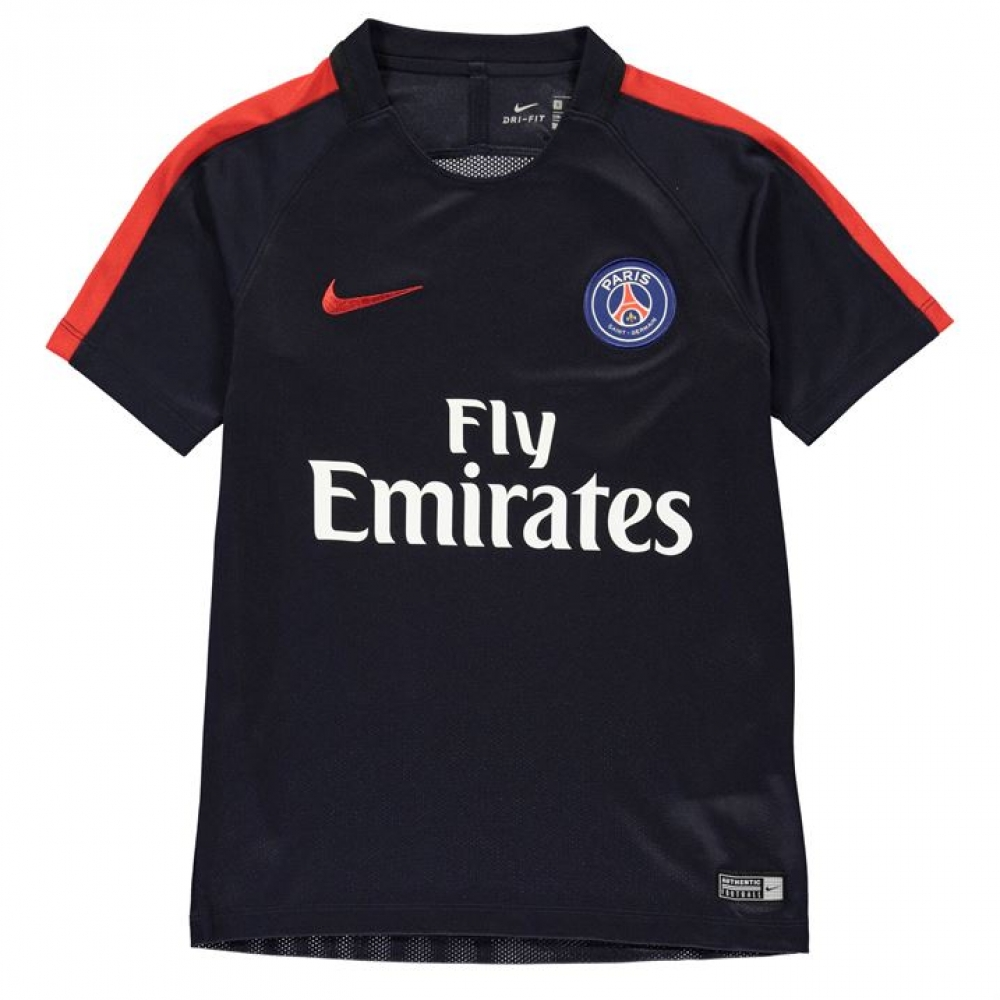 2016-2017 PSG Nike Training Shirt (Navy) - Kids