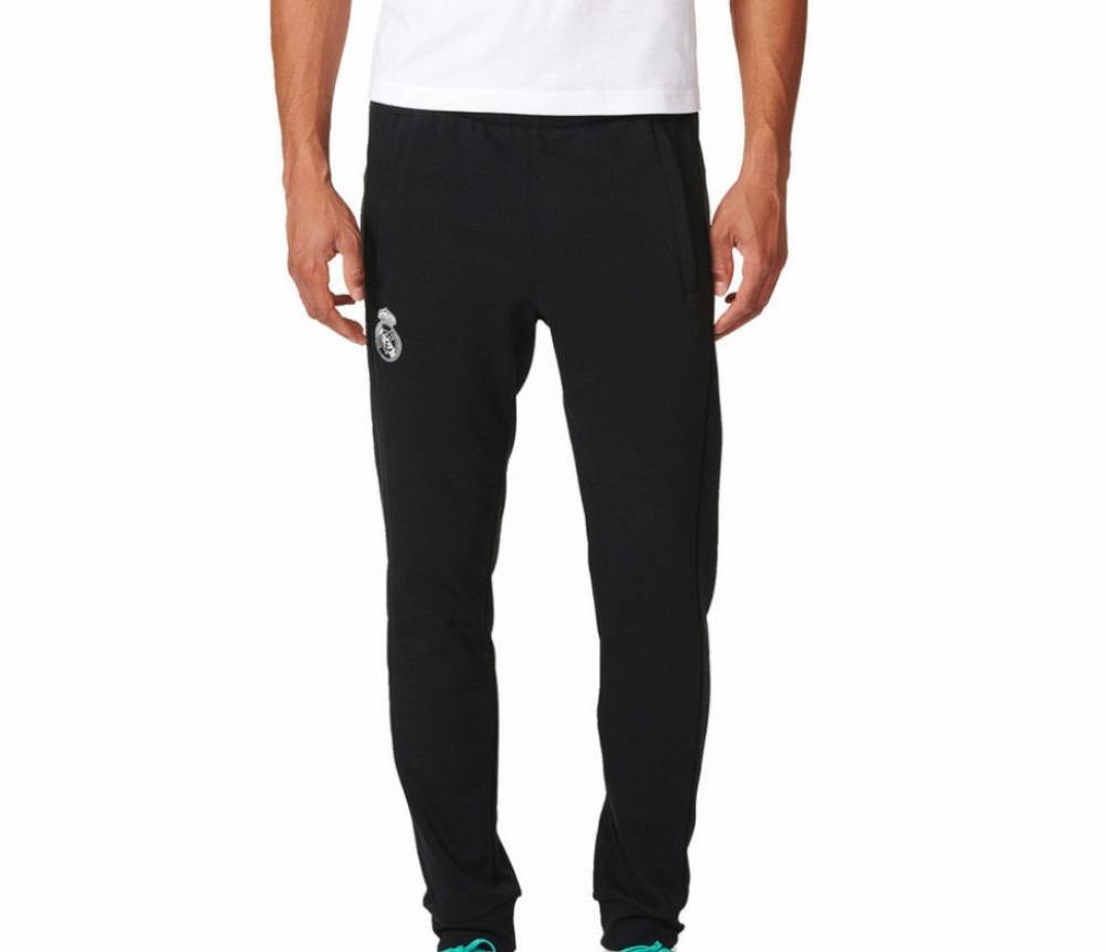 2016-2017 Real Madrid Adidas BST Core Sweat Pants (Black)