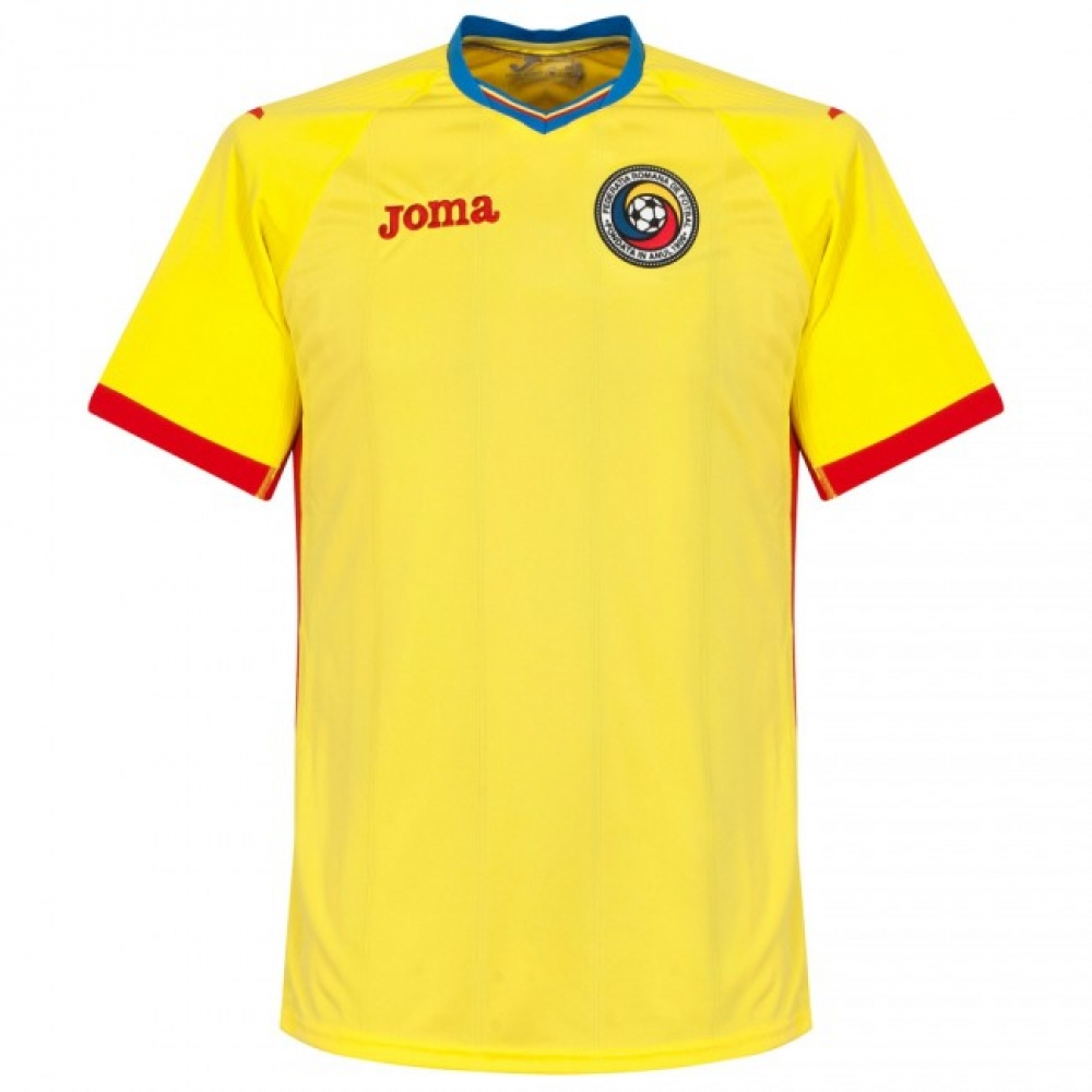 53e697216c8 2016-2017 Romania Home Joma Football Shirt  RM.101011.16  - Uksoccershop