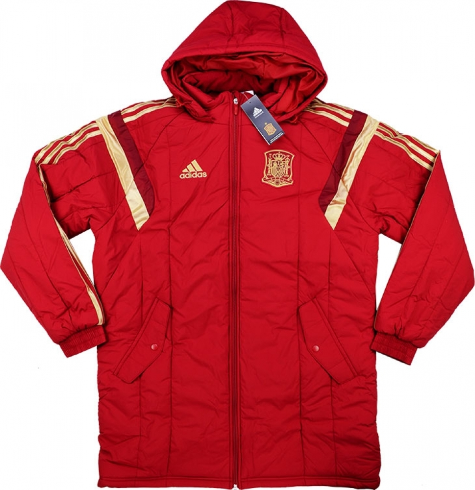 20162017 Spain Adidas Padded Jacket (Red)