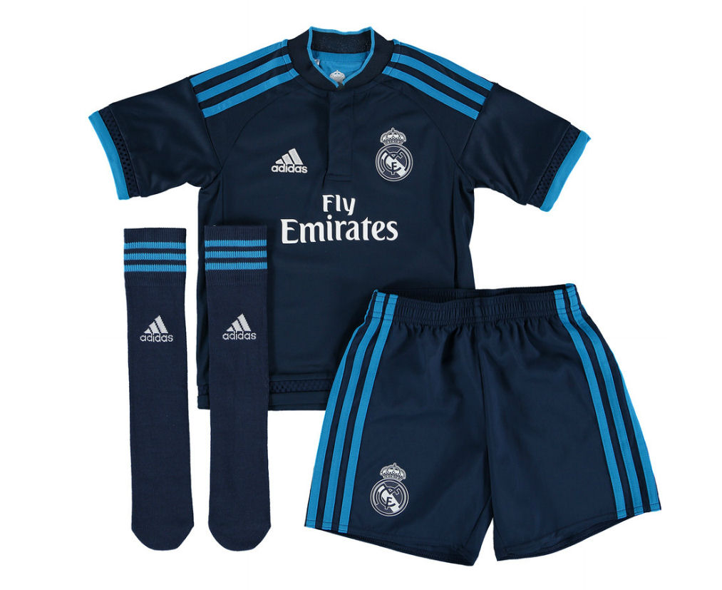 wholesale dealer 04132 9c98a real madrid home kit junior