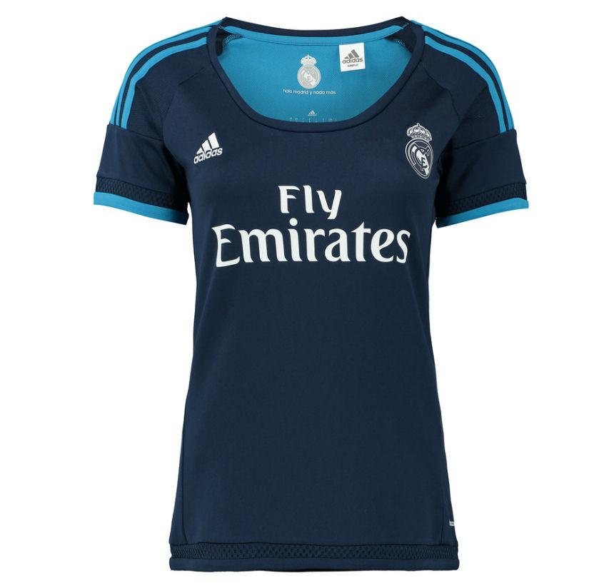 20152016 Real Madrid Adidas Womens Third Shirt