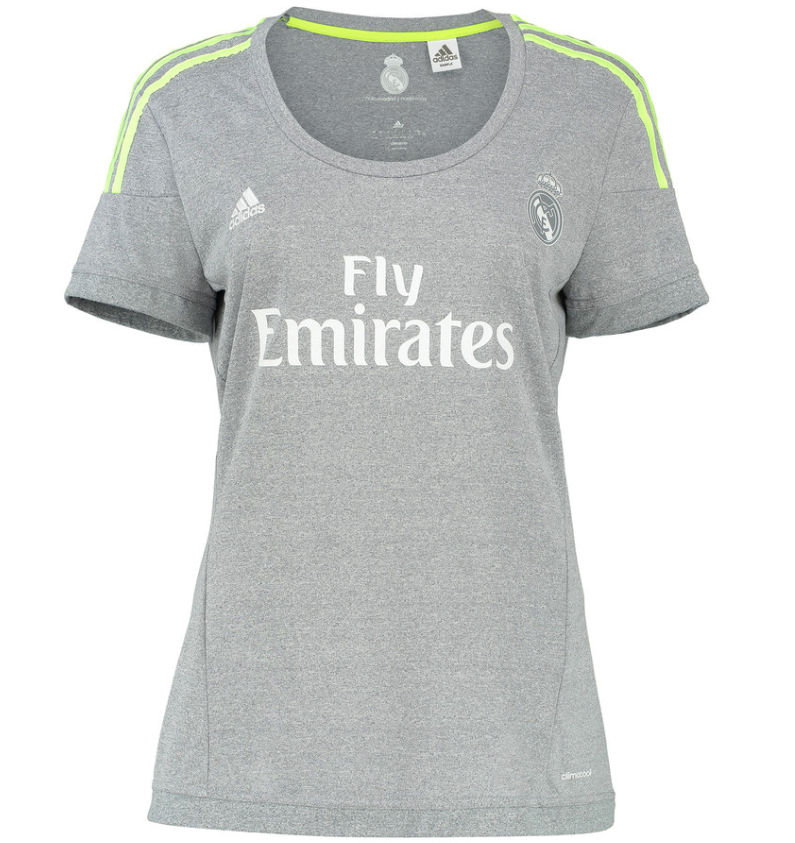 20152016 Real Madrid Adidas Womens Away Shirt