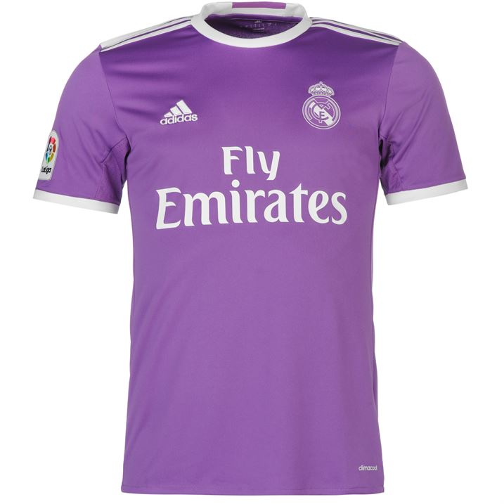 20162017 Real Madrid Adidas Away Football Shirt