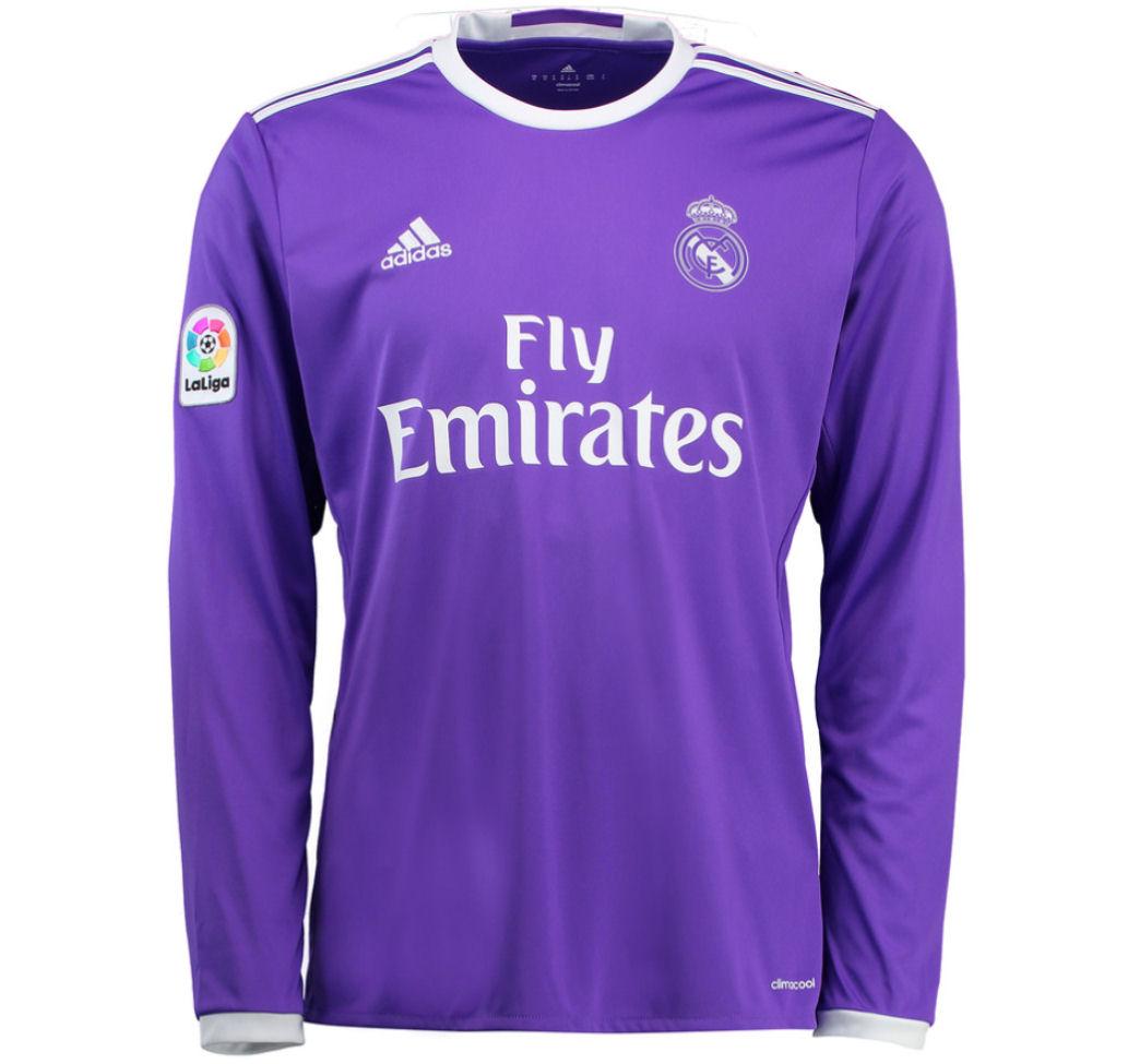 42bf92a95 ... 18 COUTINHO AWAY THIRD 2016-2017 Real Madrid Adidas Away Long Sleeve  Shirt AI5159 - Uksoccershop ...